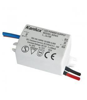 ADI 350 1x3W  Zasilacz elektroniczny LED