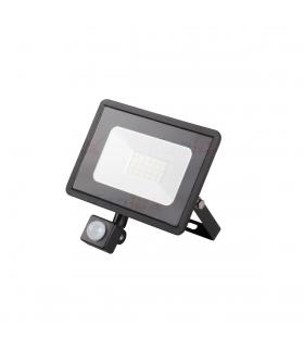 GRUN N LED-10-B-SE  Naświetlacz LED z czujnikiem ruchu 10W - 700lm